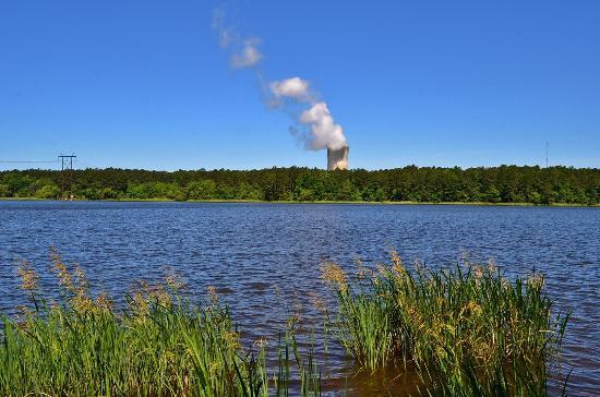 Harris Lake County Park: Shearon Harris Nuclear Power Plant