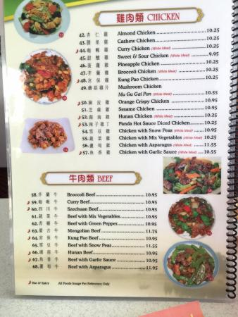 Menu picture of china king chinese restaurant palm springs china king chinese restaurant menu forumfinder