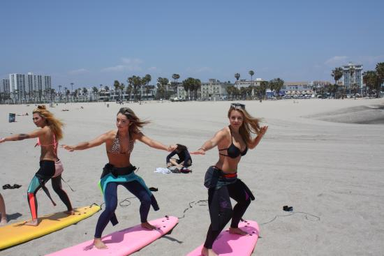 Kapowui Surf Lesson Venice Beach Picture Of Los Angeles