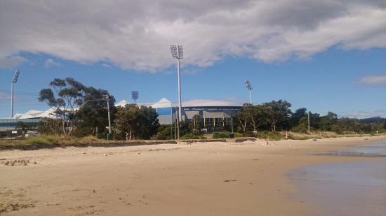 Bellerive, Australien: The beach
