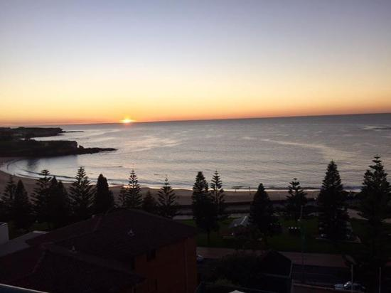 Coogee, ออสเตรเลีย: Ocean view from my room