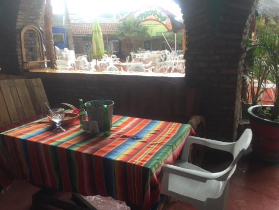 Los Algodones, Meksika: Moved us all inside