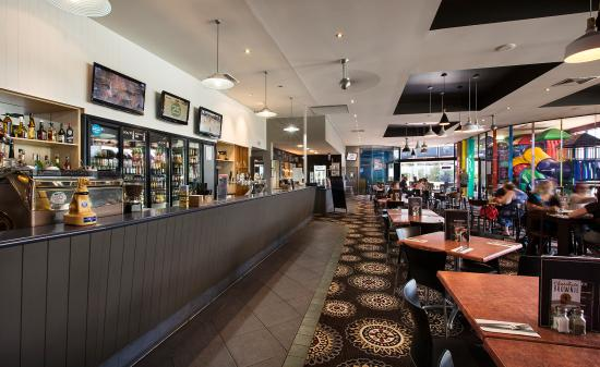Family friendly dining in our bistro at The Club Tavern Caboolture