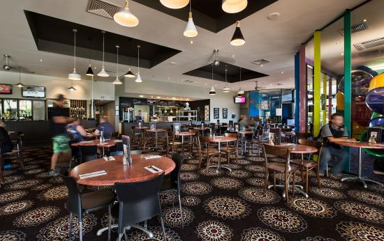 Enjoy spacious dining at The Club Tavern Caboolture