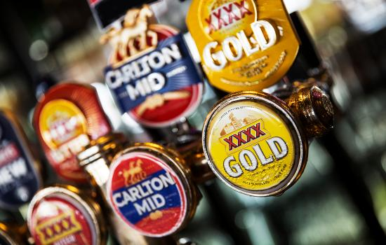 Caboolture, Austrália: The Club Tavern has favourite beers on tap
