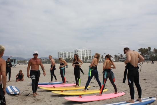 Kapowui Surf Lesson Venice Beach Santa Monica Board Als