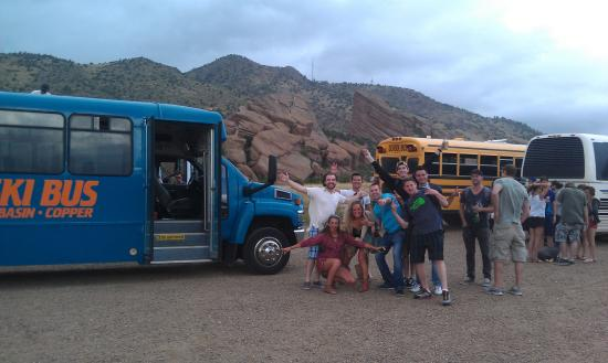 Front Range Ski Bus: Red Rocks concerts