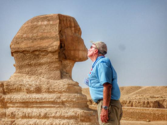 how to draw the great sphinx of egypt