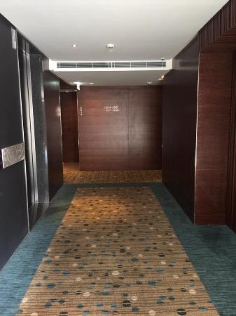 Lift waiting area