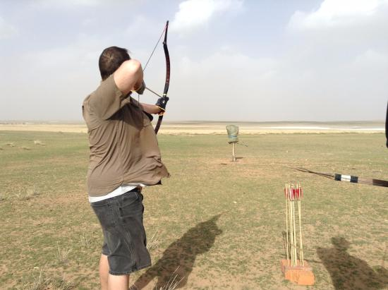 Anda Guesthouse : Archery part of the two day tour