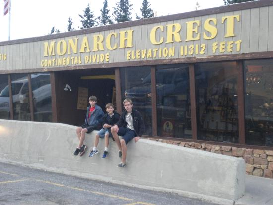 Monarch, CO: At the Continental Divide...