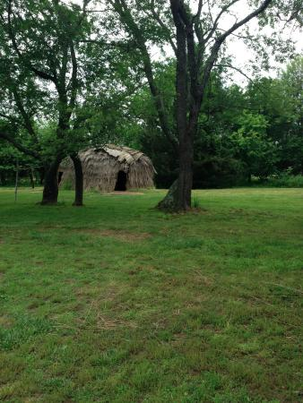 Saint Mary's City, MD: Native American structure in Historic St. Mary's City