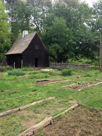Saint Mary's City, MD: The plantation house in Historic St. Mary's City