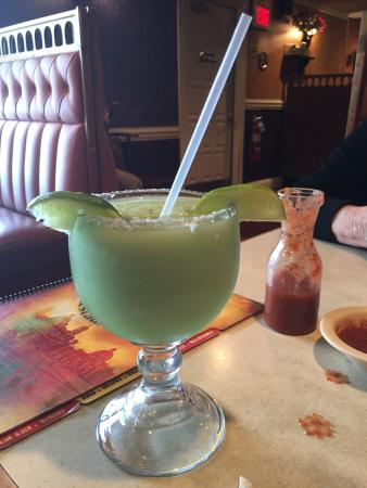 Huntingtown, MD: It looks like a margarita but the contents are questionable...