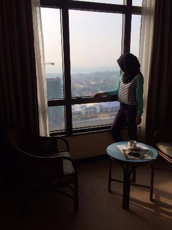 Hotel Selesa Johor Bahru: pemandangan dari kamar hotel