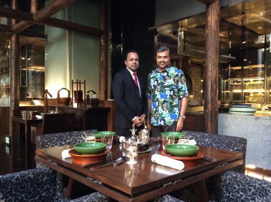 the china kitchen with china kitchen manager piyush sharma
