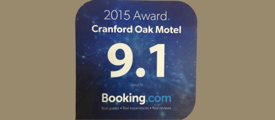 Cranford Oak Motel award