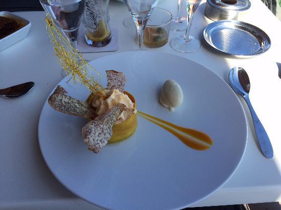 La Saline les Bains, Reunión: dessert délicieux