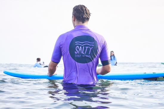‪Salty Surf School‬