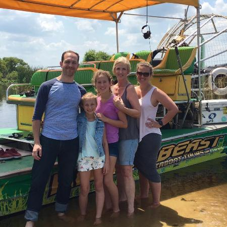Saint Cloud, FL: Dad and the girls