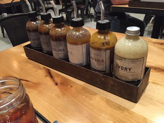 Brea, CA: Sauces.