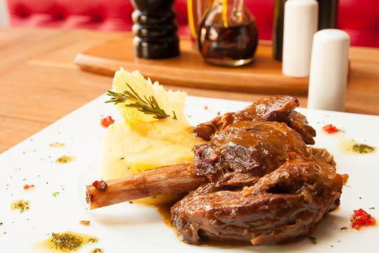 Spago' : Braised Lamb shank