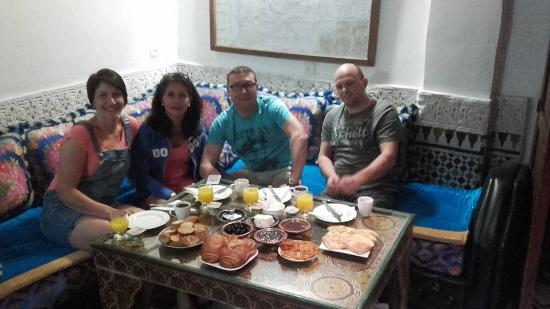 Dar el Yasmine: Reception et pièce de détente