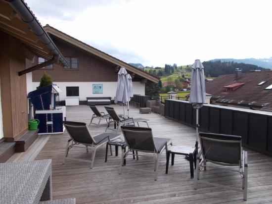 Hotel Rosenstock: Dachterrasse