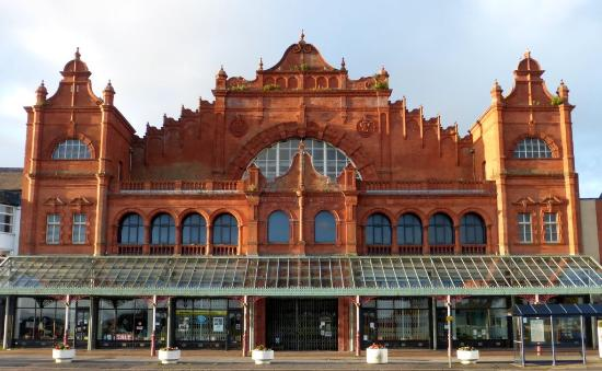 The Morecambe Winter Gardens Theatre : Front of our wonderful Theatre