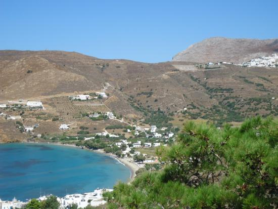 Yperia Hotel: Aegiali town