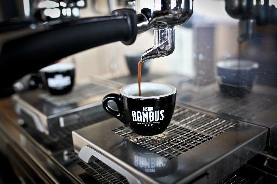 Bistro Rambus: káva pražená v lokálnej pražiarni