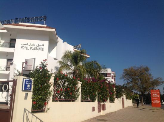 Hotel Plaisance: entrer Hotel
