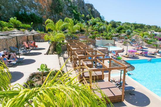 Finas Hotel Apartments Pool Area