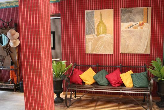 Hotel les Jardins du Luxembourg: Reception