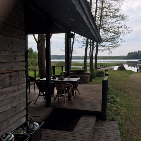 Siuntio, Finland: Cabin at lakeside