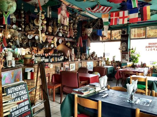 Fish Hoek, Sudafrica: decor, great atmosphere