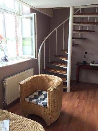 Zimmer über zwei Etagen mit direktem Blich auf die Maas. - Picture ...