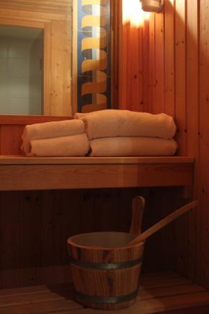 Hotel les Jardins du Luxembourg: Sauna
