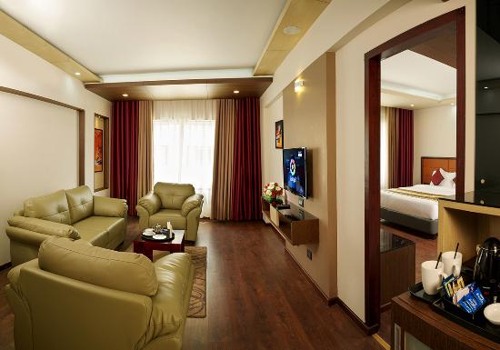 Apollo Dimora Hotel: Suite Room (Living Room)