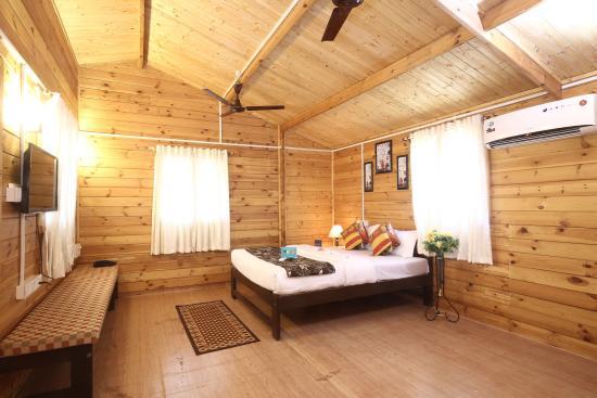 Anjuna, India: Bedroom