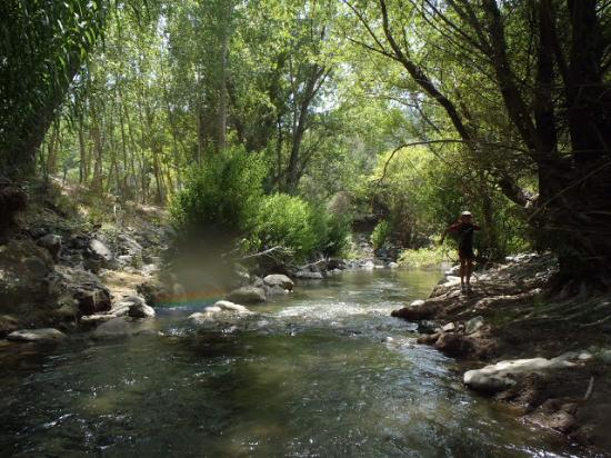 Genalguacil, Spanien: rio genal