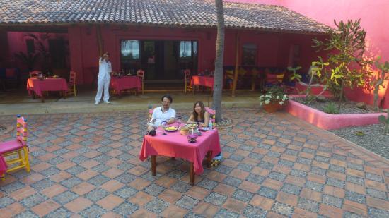 Quemaro, Meksyk: Servicio amable y chef Gourmet