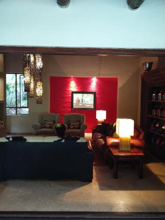 Addo, Republika Południowej Afryki: Lounge area