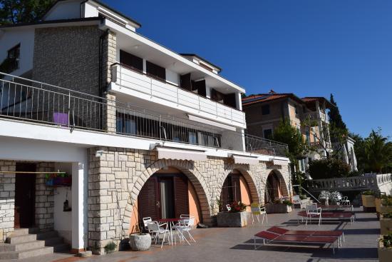 Villa Kleiner: Terrasse und Haus