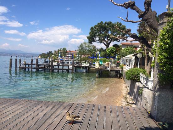 Hotel Terme Metropole: Озеро Гарда