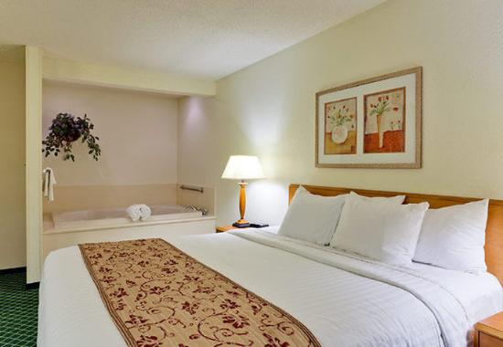 Valparaiso, IN: King Spa Guest Room