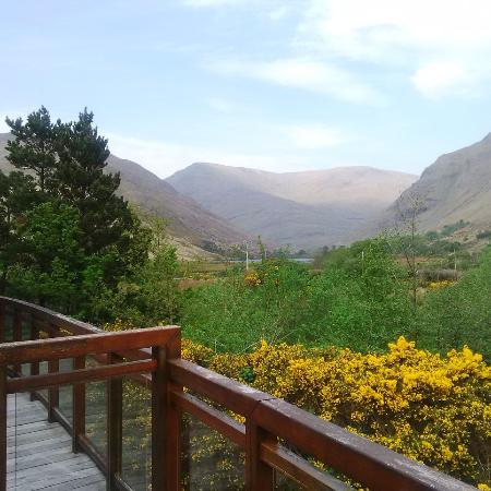 Leenane, Irlanda: View from the Bed Room ! Amazing !! Increíble !!