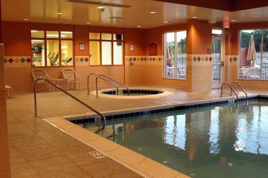 Hilton Garden Inn Indianapolis Northeast / Fishers: Indoor Pool & Whrilpool