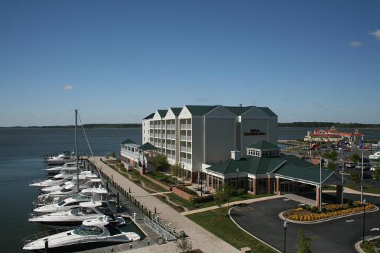 View From Jr Bayfront Suite Billede Af Hilton Garden Inn