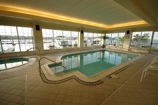 Hilton Garden Inn Kent Island Indoor Pool Whirlpool